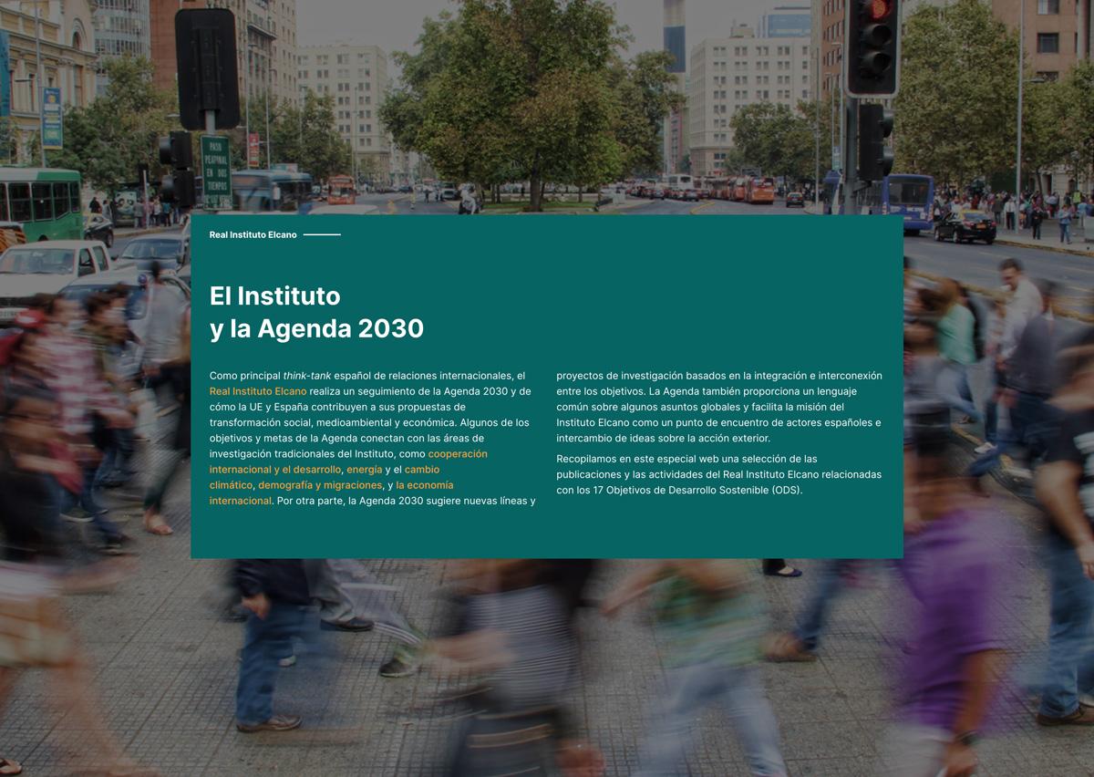Diseño y de desarrollo página web en WordPress Especial Agenda2030