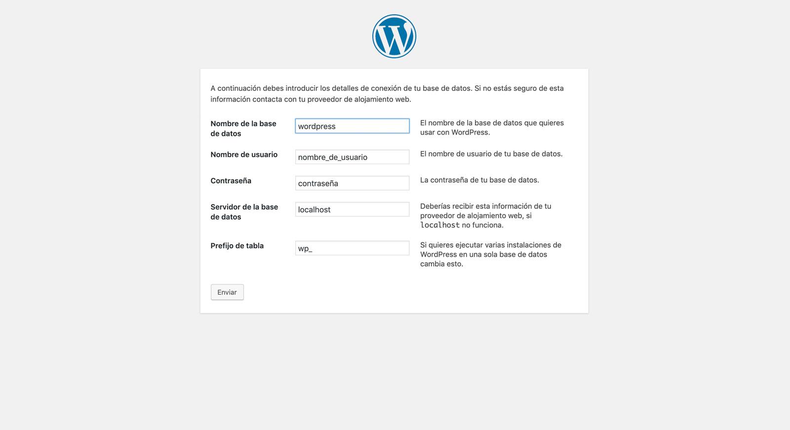 Julia Menéndez desarrollo WordPress blog cómo instalar WordPress